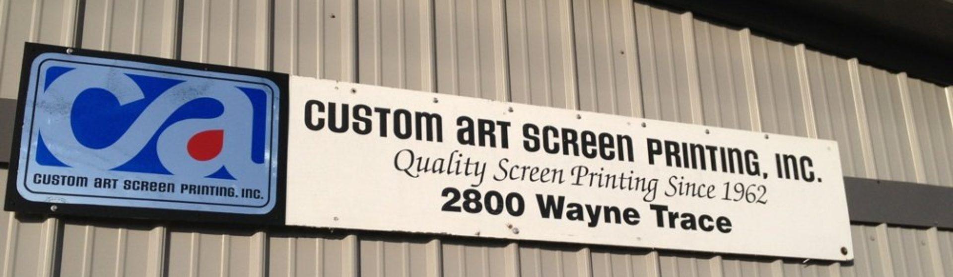 Custom Art Screen Printing Inc